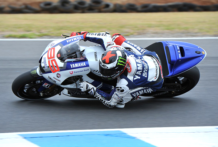 Jorge Lorenzo action photo MotoGP 2014