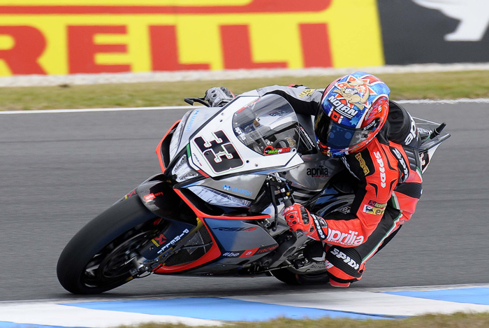 Marco Melandri action photo
