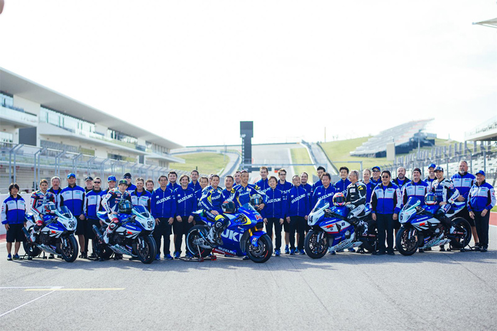 Suzuki MotoGP and Superbike Team pho austin Texas