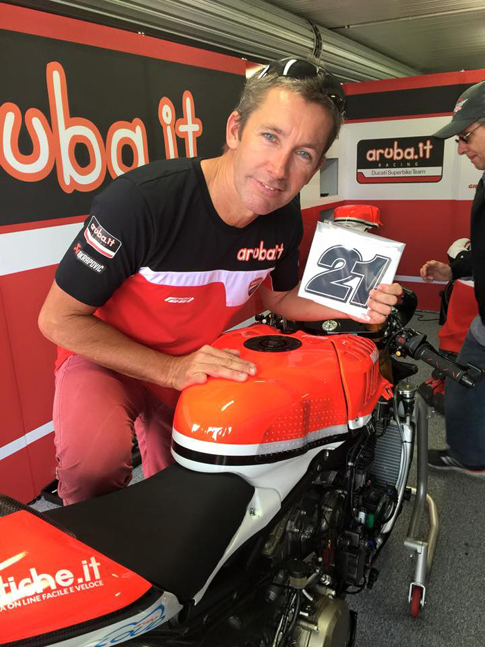 Troy Bayliss return Phillip Island 2015 photo picture Ducati