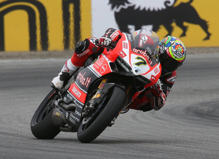 Chaz Davies action photo laguna Seca