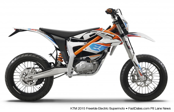 KTM Freeride Electric Supermoto motorcycle photo