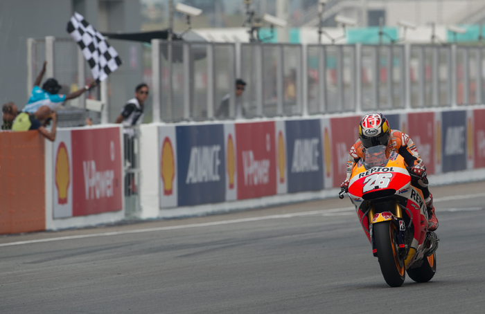Pedrosa wins Sepang MotoGp photo