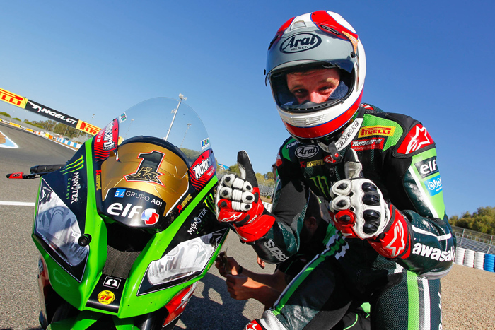 Johthan Rea 2015 SBK World Superbike Champion Kawasaki photo