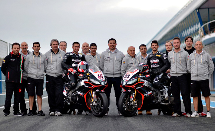 Aprilia World Superbike Team 2015