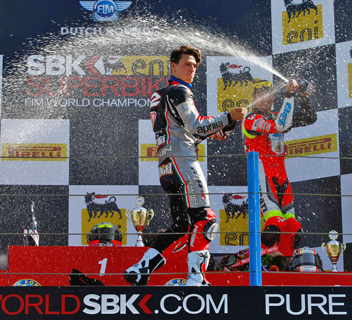 Lorenzo Savadori has achieved the goal of winning the FIM Superstock 1000 Cup