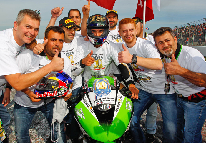 Kenan Sofuoglu 600 Supersport World Championship