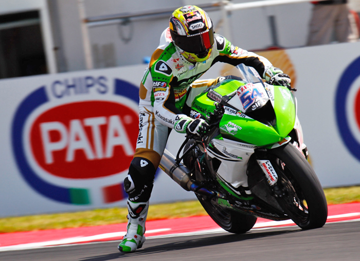 Kenan Sofuoglu 600 Supersport World Championship action photo