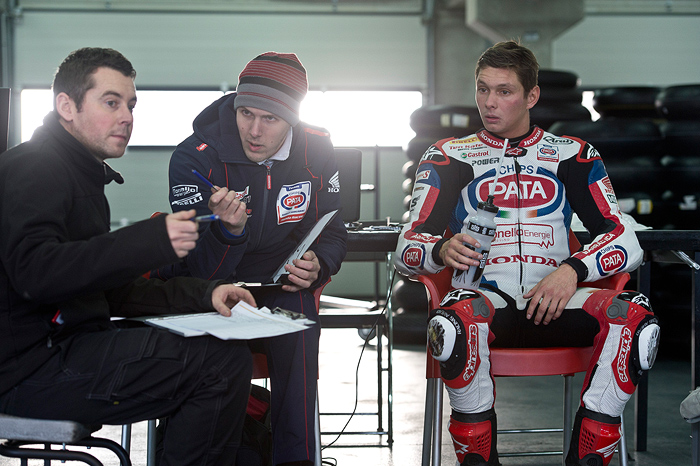 Michael van der mark Team pata Honda