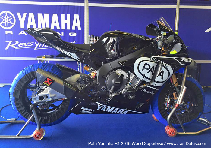 Yamaha 2106 R1  Pata Yamaha World Superbike