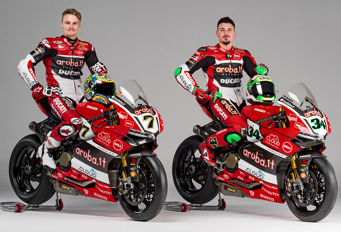 Ducati Superbike 2016 Team launch photo