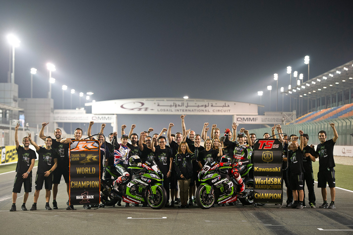 2016 Kawsaki Team World Superbike Champions photo