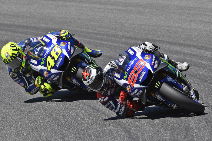 Mugello Lorenzo Rissi MotoGP race action photo