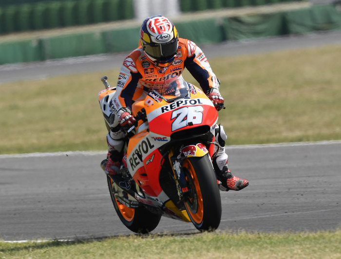 dani Pedrosa action photo Misano MotoGP 2016