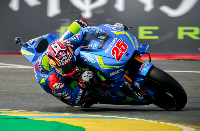 Alex Vinales action photo MotoGP LeMans
