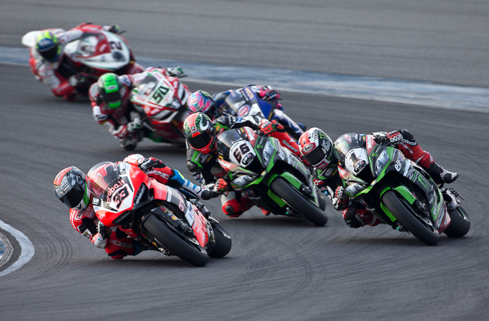 World Superbike Thailand race action