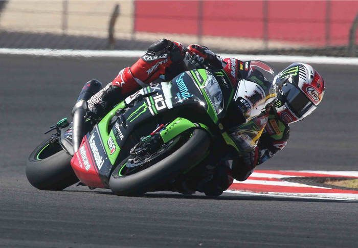 Jonthan Rea race action world Superbike