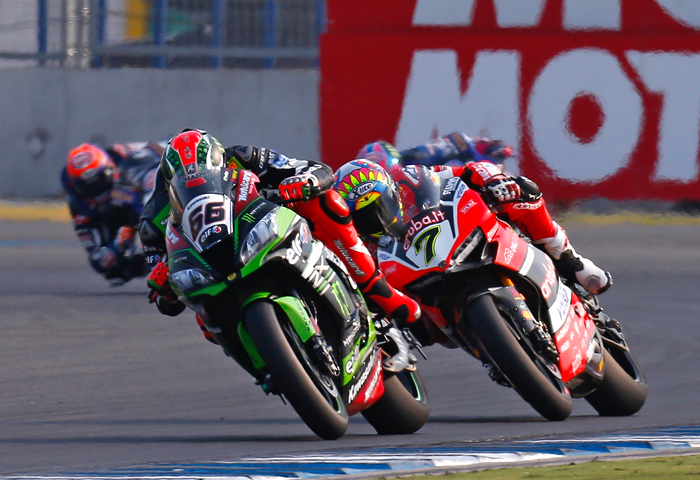 World Superbike race photo Thailand 2017