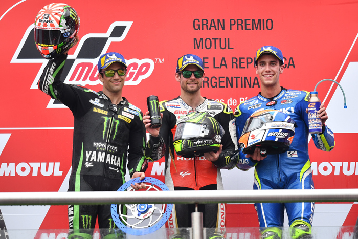 2018 Argentina MotoGP Podium photo
