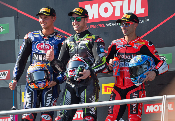 Portiamo WSBK Podium 2018