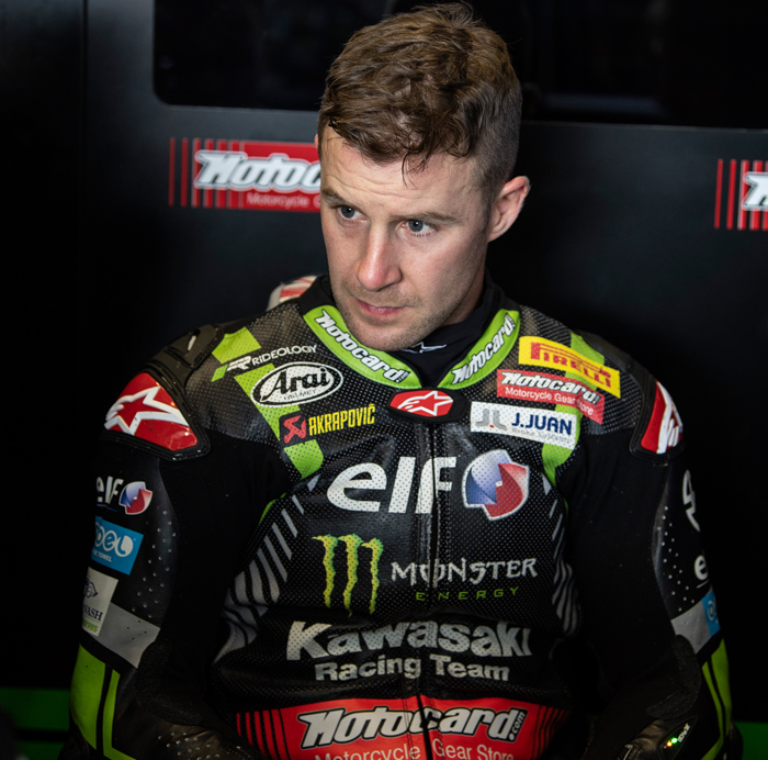 Jonthan Rea Cm headshot Magny Cours SK world superbike