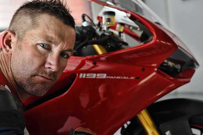 Troy Bayliss Ducati Panigale 1199 picture