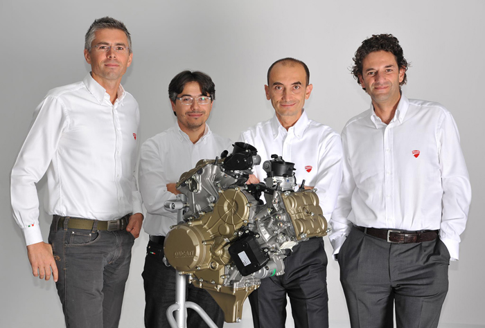 Ducati 1199 Design Engineers