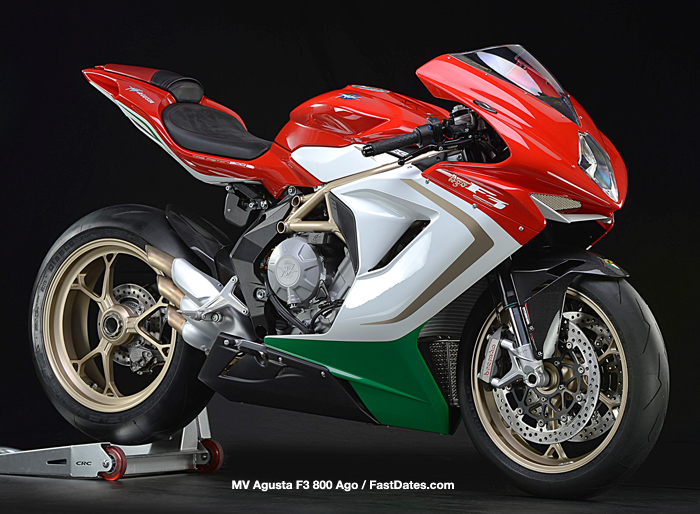 2014 MV Agusta F4 800 AGO  photo and specifications
