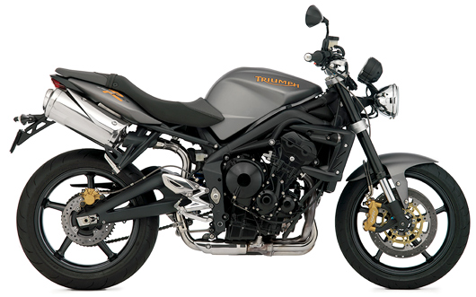 Triumph new motorcycles street Triple 2009