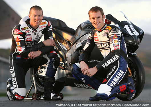Ben Spies, Tom Sykes Team Yamaha World Superbike 2009