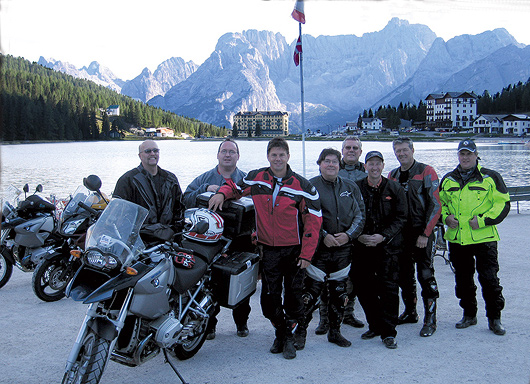 Edelweiss Motorcyclist Alps Challenge motorcycle tour
