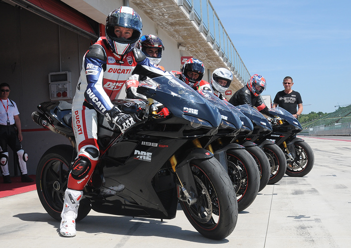 Troy Bayliss Academy racing sholl photo, Imola