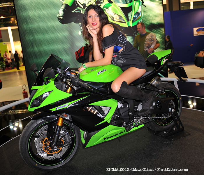 EICMA 2012 Motorccyle Show covergae photos