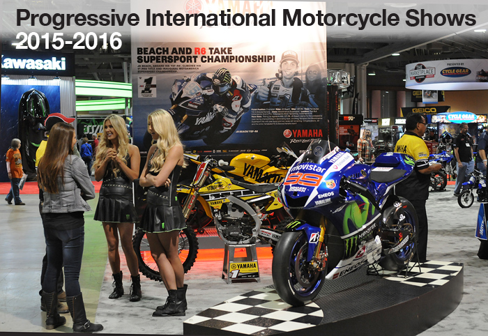 Progressive International Motorcycle Show long Beach 2105 photos coverage news