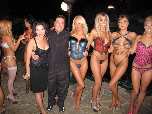 Leather Meetd lace Playboy Mansion part