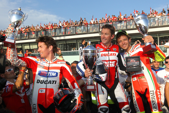 World Ducati Week 202 photo Troy Bayliss, valentino Rossi