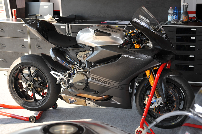 carlos Checa Ducati 1199RS World Superbike