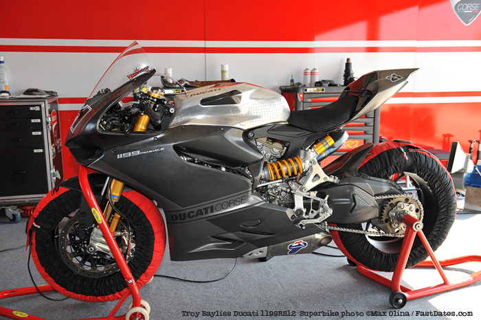 Troy Bayliss Ducati 1199RS World Superbike