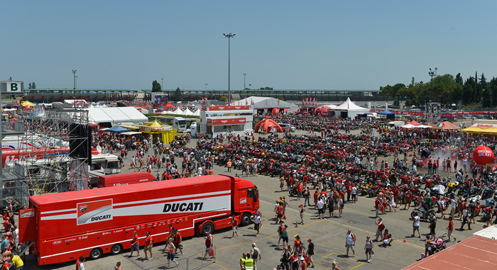 World Ducati Week 2012 high resolution photos