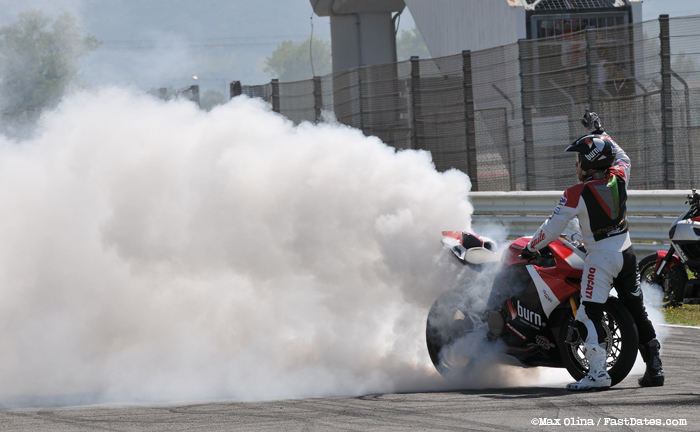 Motorcycle Burnout World Ducati Week hi-resolution