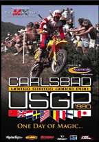 One Day of Magic, Carlbad USGP, Marty Moates, motocross, movie, DVD,