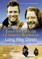 Long Way Down, Ewan McGrevormotorcycle movie Africa