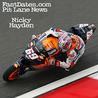 Nicky Hayden wireless screensaver